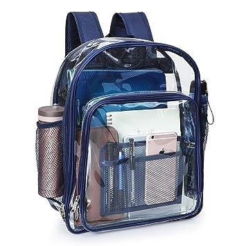 ed0e86e9de Amazon.com  Clear Backpack