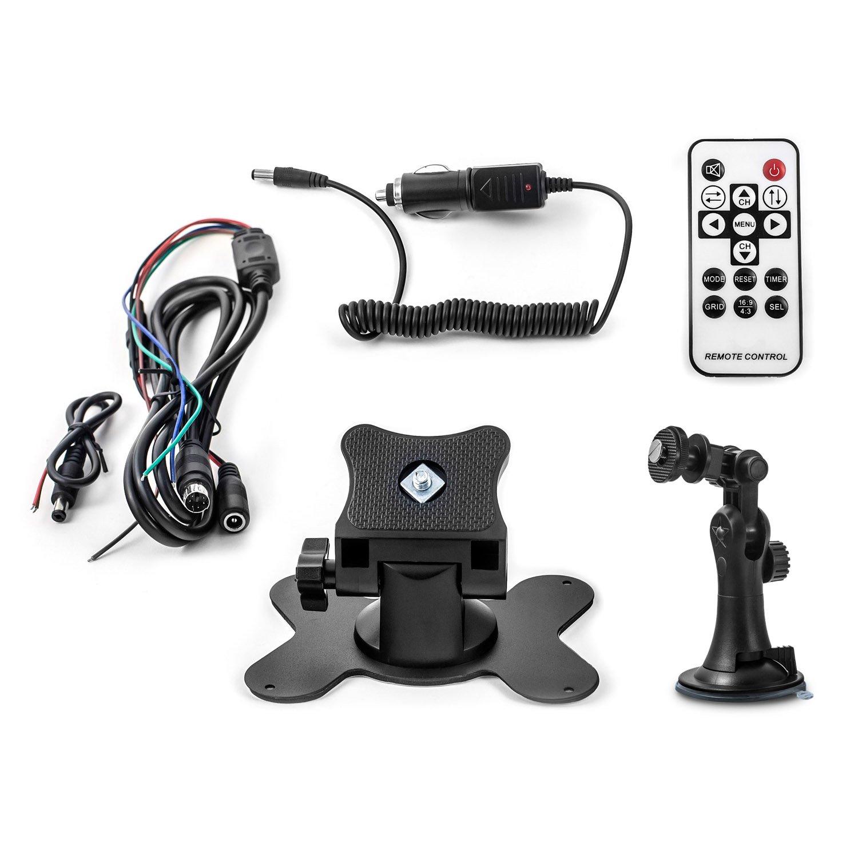 Funk Kamera Set für Pferdeanhänger 12V - 24V Überwachungssystem ...