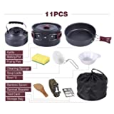 REDCAMP 11 PCS Camping Cookware Set with