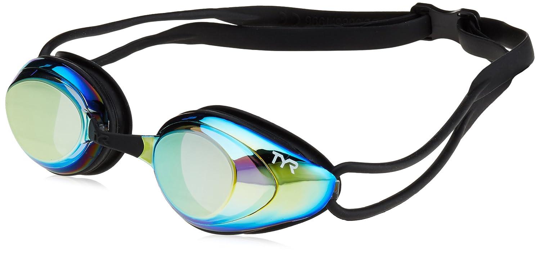 b4c38facb8a Amazon.com   TYR Black Hawk Racing Mirrored Goggles