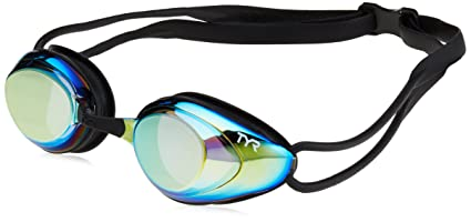 a25825596bf Amazon.com   TYR Black Hawk Racing Mirrored Goggles