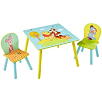 Winnie the Pooh Disney Kids Table and 2 Chair Set by HelloHome