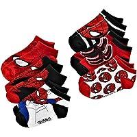 Marvel Ultimate Spider-Man Toddler Boy's 1/4 Crew Socks - 6 Pair