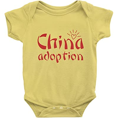 AdoptionGifts.com China Adoption Onesie | Adoption Gifts, Clothing & Apparel