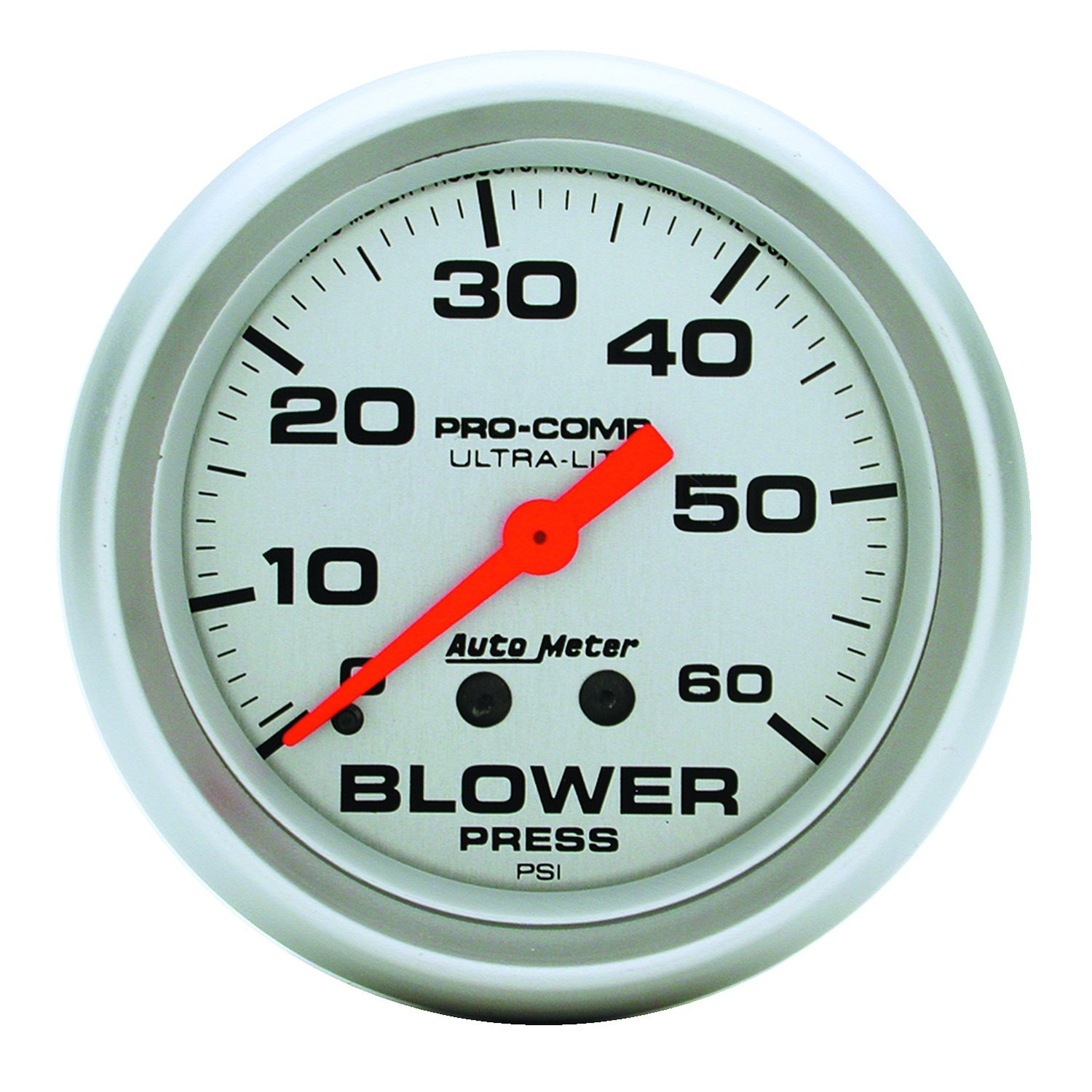 Auto Meter 4402 Ultra-Lite Mechanical Boost Gauge by AUTO METER
