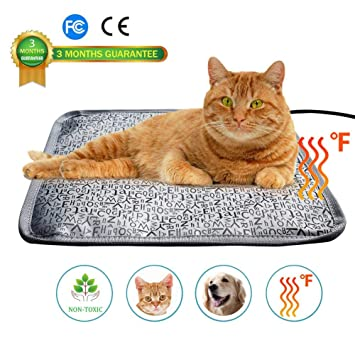 SUFUPETS Sufu - Manta eléctrica para Mascotas, Impermeable, antimordeduras, con Enchufe de EE