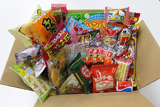 25 Assorted Japanese Candy and Snack Okashi Set: Amazon.es ...