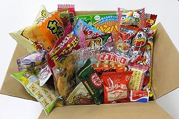 25 Japanese Candy and Snack Okashi Set with original Japanese Candy Ninja sticker