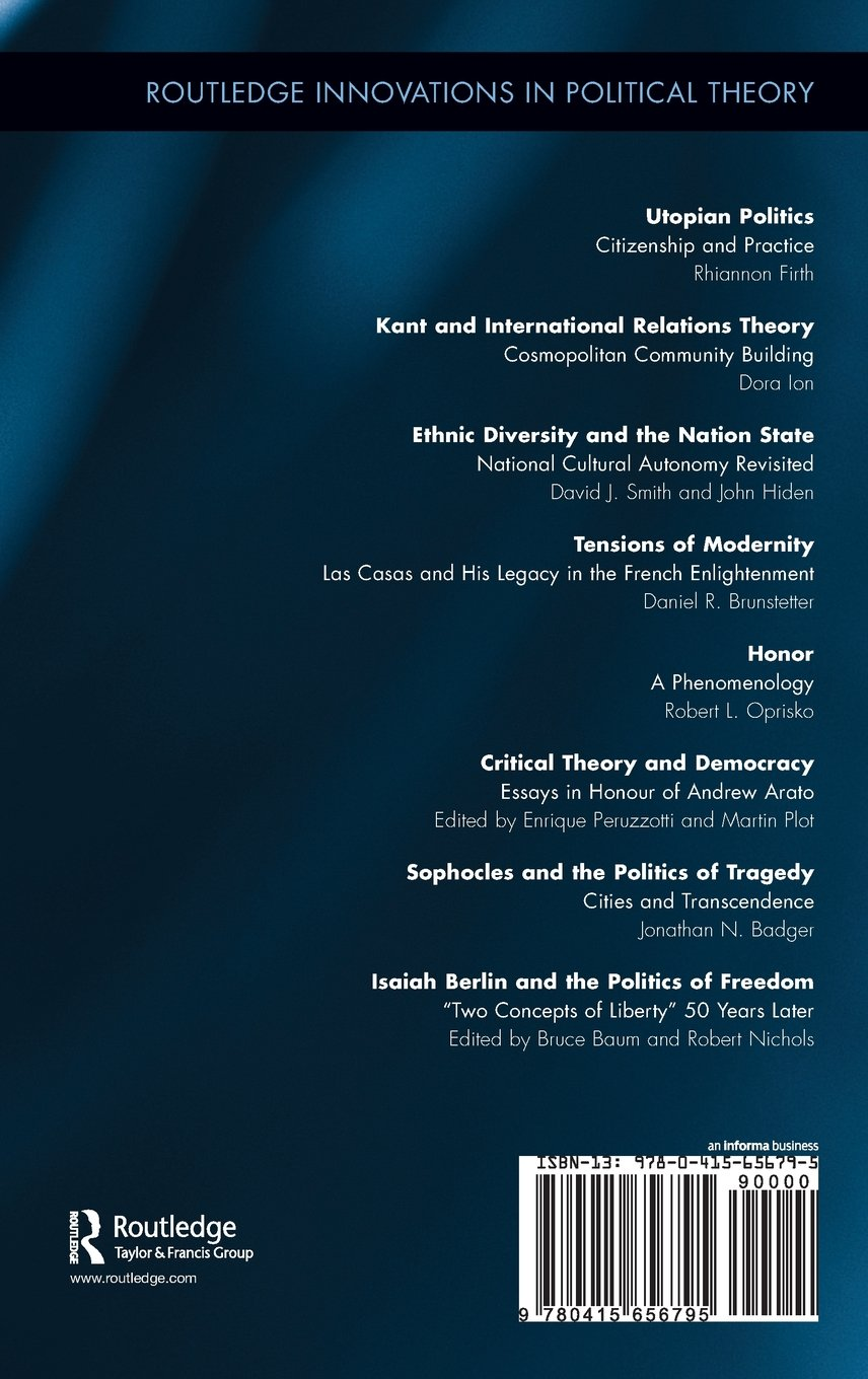 isaiah berlin and the politics of dom two concepts of isaiah berlin and the politics of dom two concepts of liberty 50 years later routledge innovations in political theory co uk bruce baum