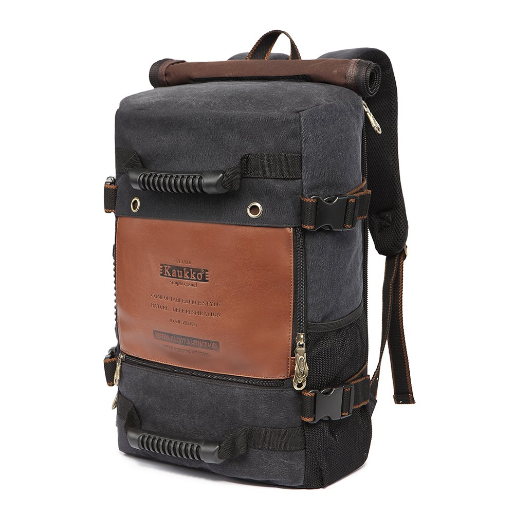 Kaukko 22L Multifunctional Travel Backpack Hiking Camping Canvas Functional Laptop  Bag Versatile Bags 935b0cb4f3