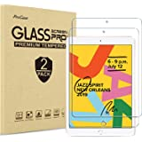 [2 Pack] ProCase iPad 10.2 7th Generation Screen Protector, Tempered Glass Screen Film Guard Screen Protector for iPad 10.2 Inch 2019 (A2197 A2198 A2200)
