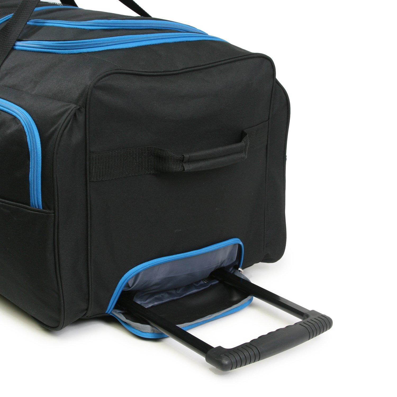 Luggage 30'' 7 Pocket Large Rolling Duffel Bag by Fila (Image #5)