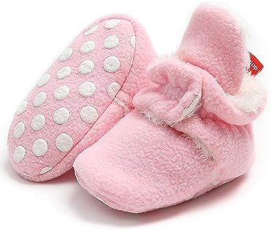 Adorel Zapatos Forros Invierno Patucos de Algodón para Bebé: Amazon.es: Zapatos y complementos