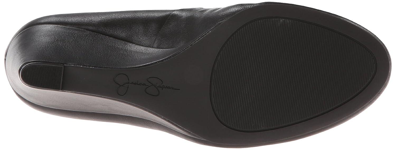 Jessica Simpson Footwear Women Sampson Wedge Pump B00IPAWJEC 5.5 B(M) US|Black