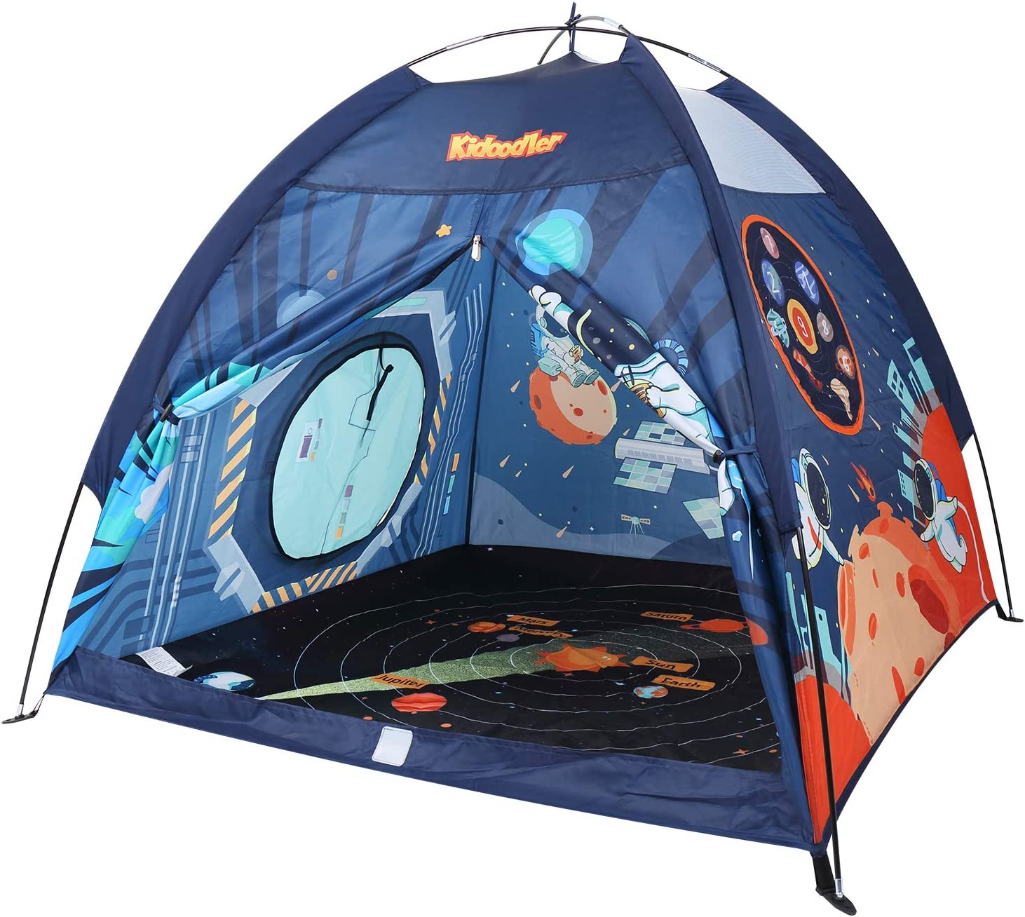 """Minne Baby Space World Kids Play Tent, Indoor & Outdoor Tent Playhouse for Boys, Girls & Children - 48"""" x 48"""" x 43"""""""