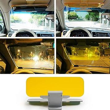 1//2 St/ück blendfrei blendfrei Auto-Sonnenblende Verl/ängerung HD-Visier Anti-UV-Schutz Augenschutz Anti-Dazzle Windschutzscheiben-Verl/ängerung