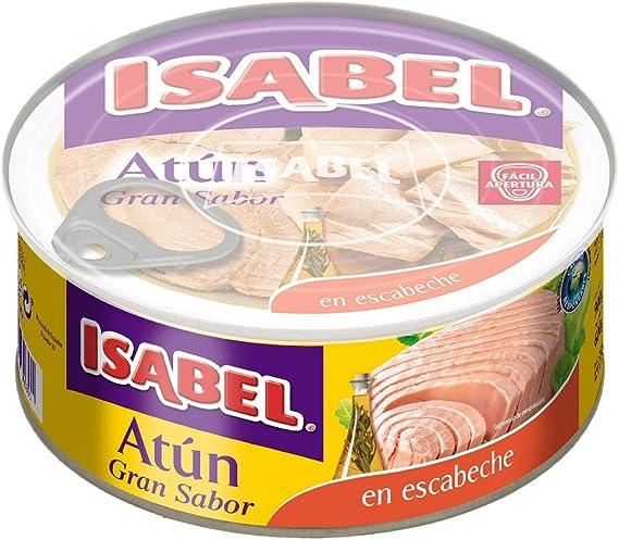 ISABEL atún en escabeche lata 600 gr