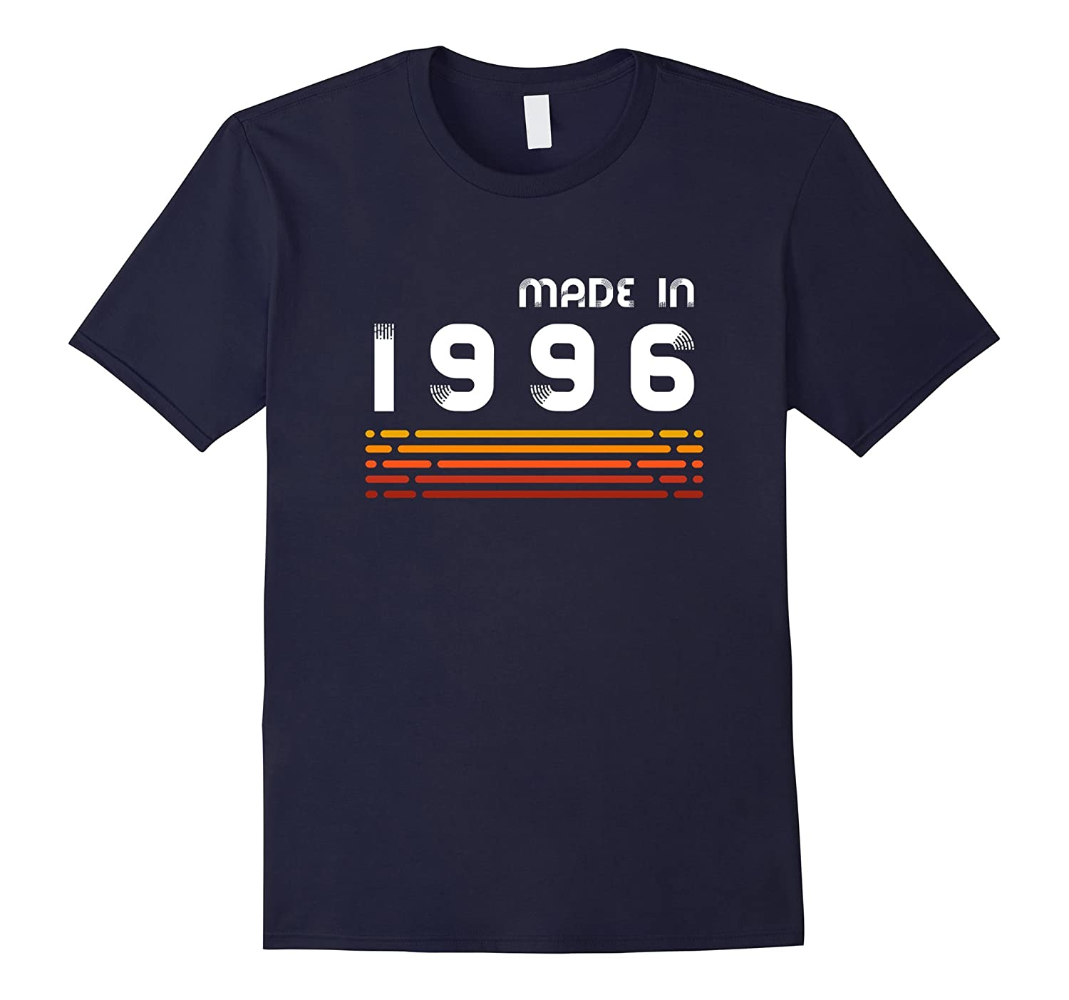 Made In 1996 T-Shirt Retro 21st Birthday Gift T-Shirt-PL