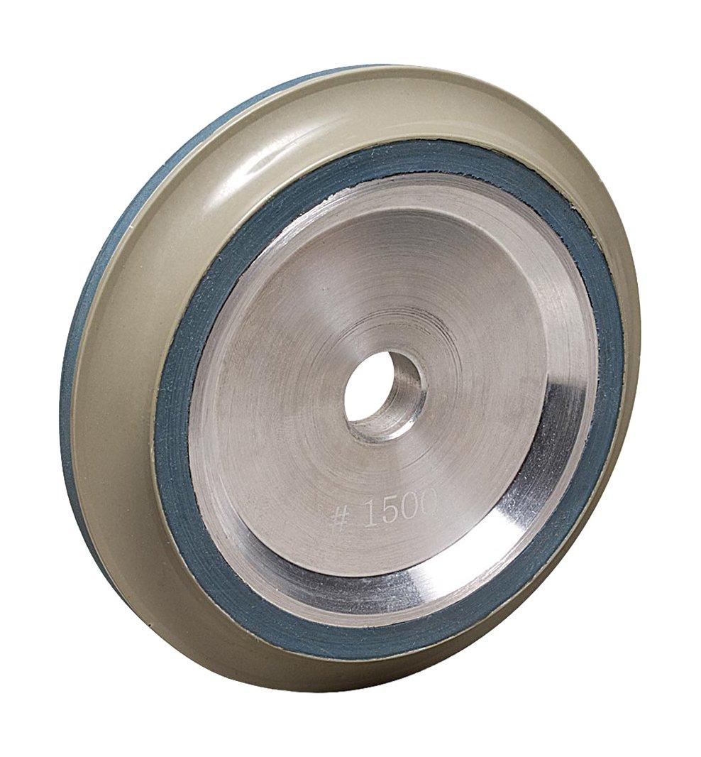 MK Diamond 166089 1800 Grit Resin Bond B-Profile Wheel DX 15mm Radius