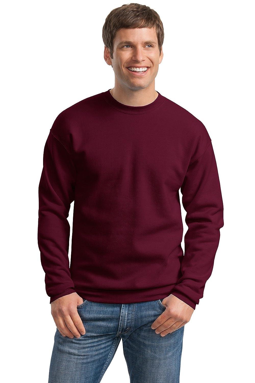 Hanes Mens ComfortBlend EcoSmart Crewneck Sweatshirt, M, Maroon P160