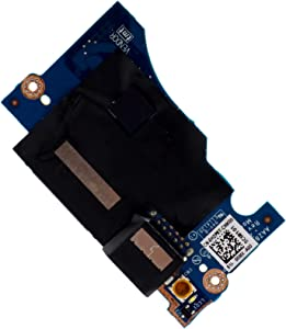 Deal4GO USB Port SD Card Reader Power Button Board Replacement for Dell XPS 13 9343 9350 9360 LS-C881P 0H2P6T H2P6T