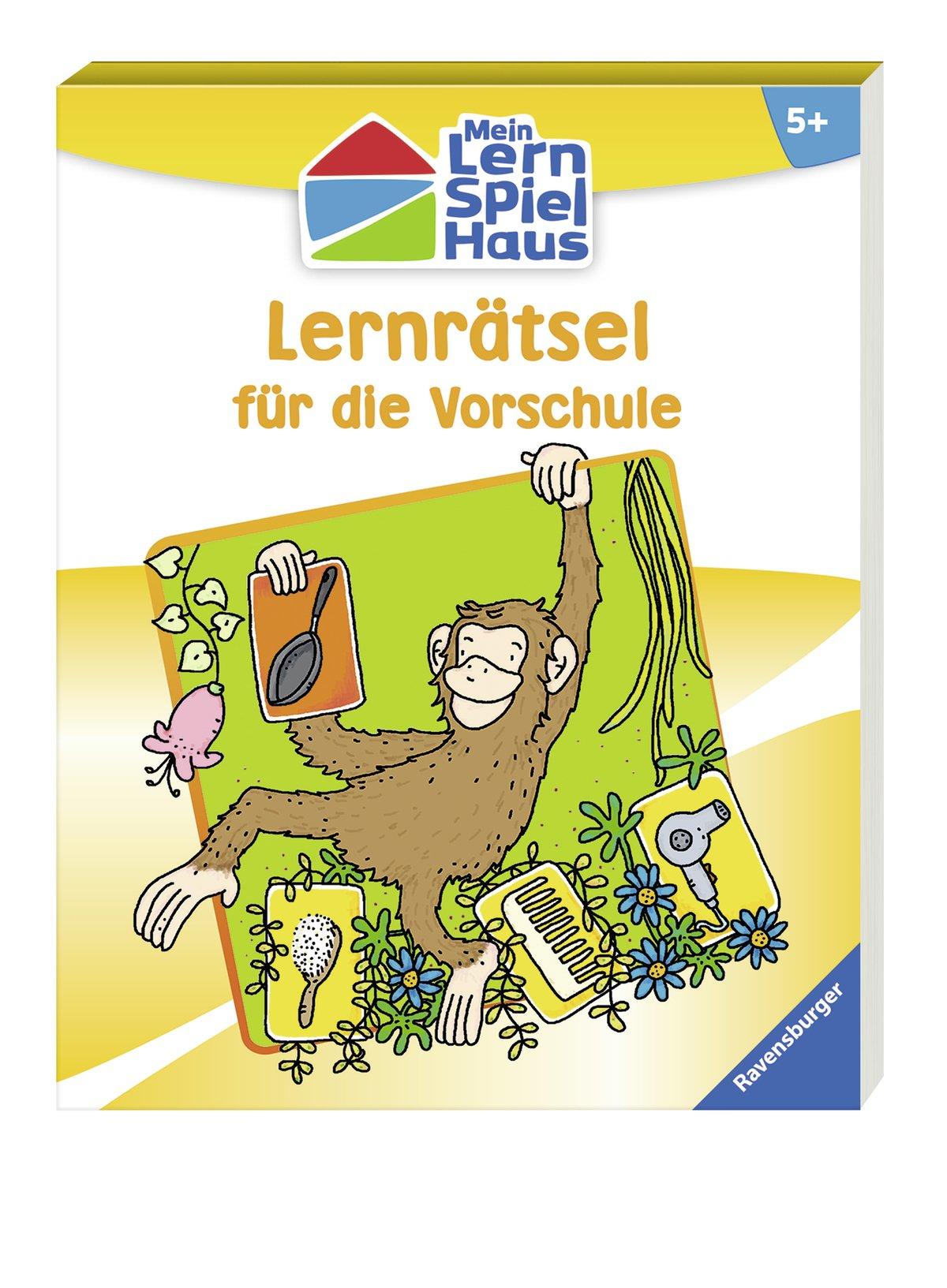 Lernrätsel für die Vorschule Mein Lern-Spiel-Haus: Amazon.de: Anja ...