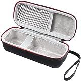 TOOGOO Nuova cassa per altoparlante wireless Bluetooth EVA portatile per Anker SoundCore 2 con borsa da viaggio con doppio cavo audio a tasca