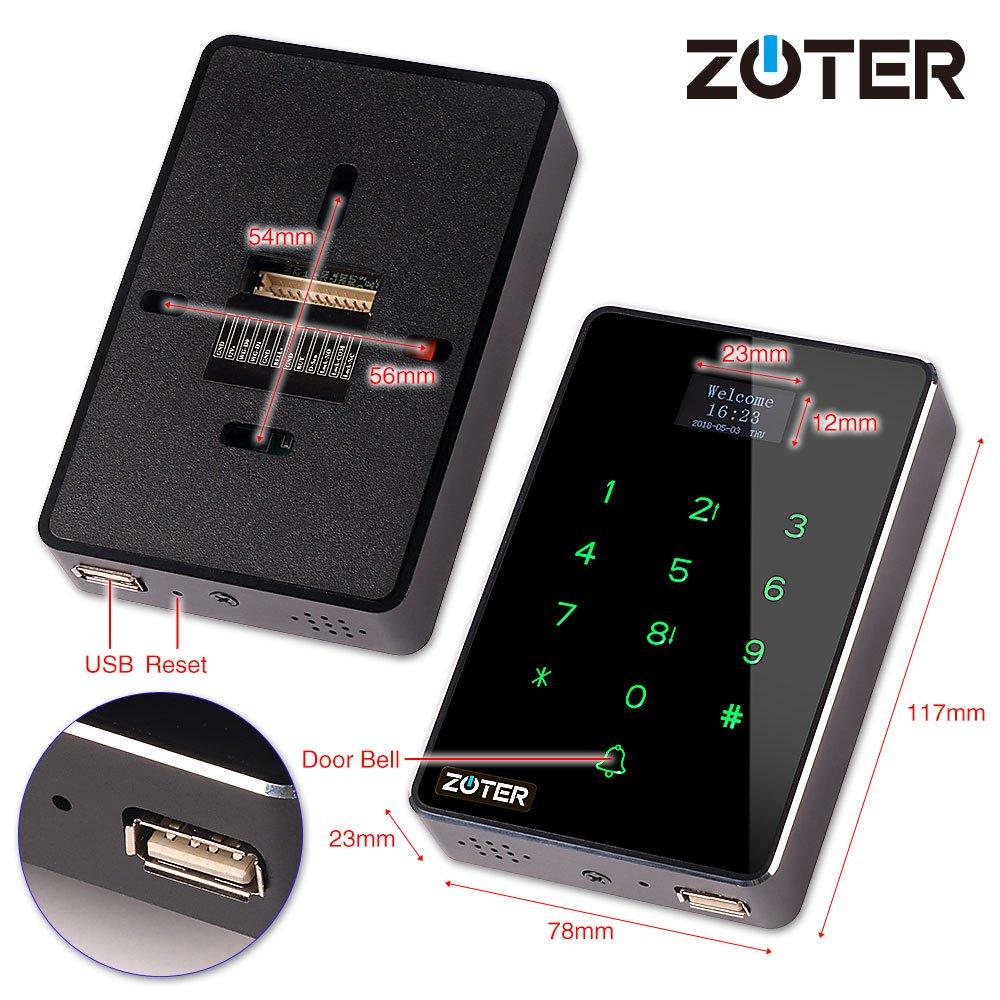 Amazon.com: Control de acceso lector, zoter RFID IC tarjeta ...