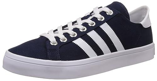 adidas Court Vantage, Sneakers Basses Homme, Bleu (Blau), 36 2/
