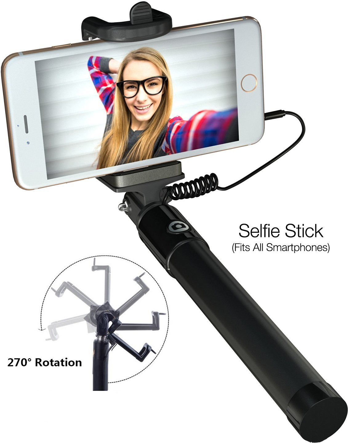 Flexible Tripod /& Phone Mount fits iPhone 4 4s 5 5s 6 6s 7 iPad Samsung /& Android Smartphones Eye-Pro iPhone Camera Accessories Lens Kit: Fisheye Wide Angle Macro Lenses Selfie Stick Remote Shutter