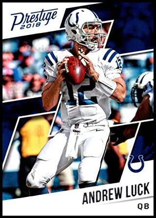 Bundle Indianapolis Colts Trading Cards 5 Andrew Luck Football Cards Assorted