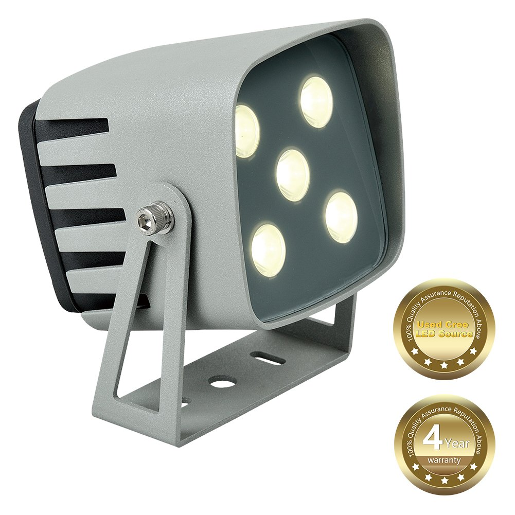 Led Spotlight,Herfeir 1200lm Led Floodlight Superbright with Cree Led Source,Nature White,4000K,Waterproof IP65,Security Lights,Led floodlight, Apply to Landscape Lighting,Commercial,Home,Garden,Yard