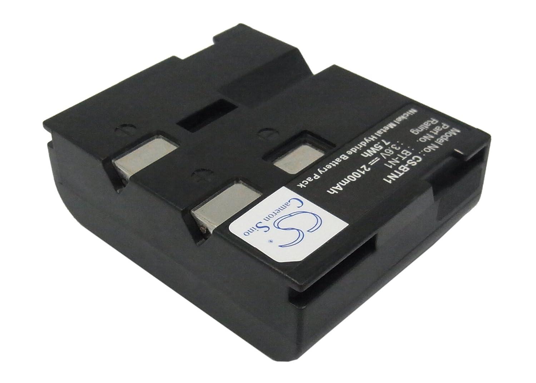 Cameron Sino Rechargeble Battery for Sharp vl-e47u   B01B5JGFXK