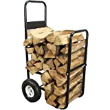 Sunnydaze Firewood Log Cart, Log Cart ONLY