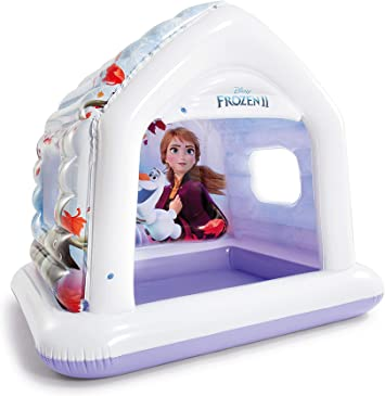 Intex 48632NP Centro de Juegos Casa Frozen II Disney