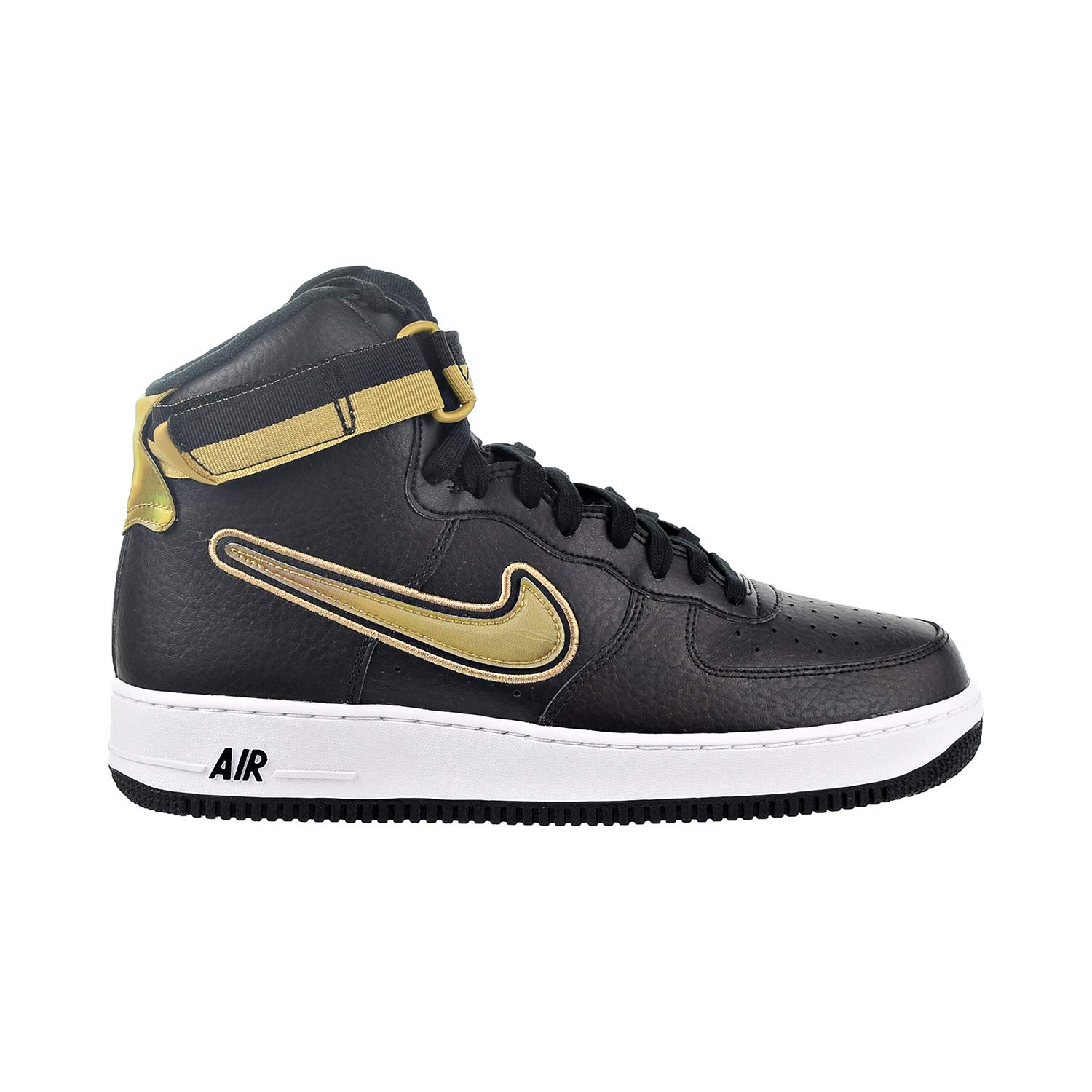Nike Air Force 1 High \u002707 LV8 Sport [AV3938,001] Men Casual Shoes NBA  Black/Gold/US 10.5