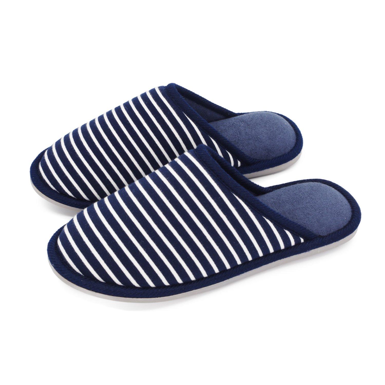 Moodeng House Slippers Memory Foam for Women Men Anti-Skid Indoor Slide Shoes Washable Lightweight Ladies Home Slipper
