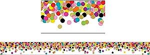 Teacher Created Resources (5609) Confetti Straight Border Trim