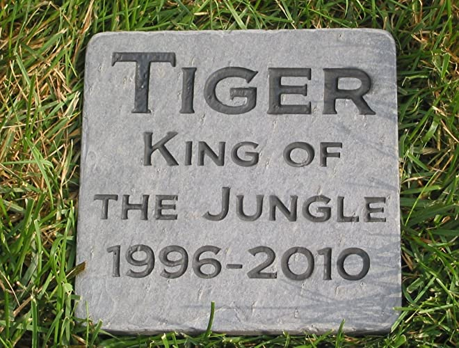 amazon com personalized pet grave marker cat memorial stone pet