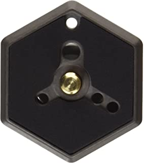 Manfrotto 130-14 Hexagonal Quick Release Mounting Plate 1//4-20-Inch Thread with Flush Mounting Screw