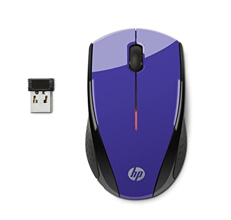 Amazon.com: HP X3000 mouse inalámbrico, Púrpura ...