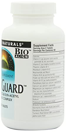 Amazon.com: Source Naturals Liver Guard Silymarin CoQ10 N-Acetyl Cysteine Complex Support - 120 Tablets: Health & Personal Care