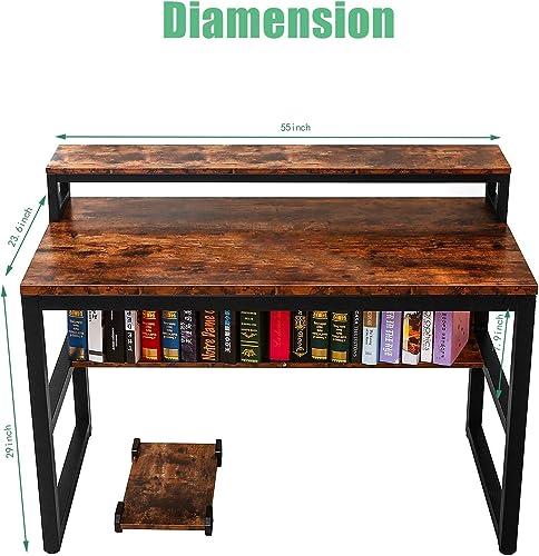 Editors' Choice: 55″ Computer Desk Modern Office Desk