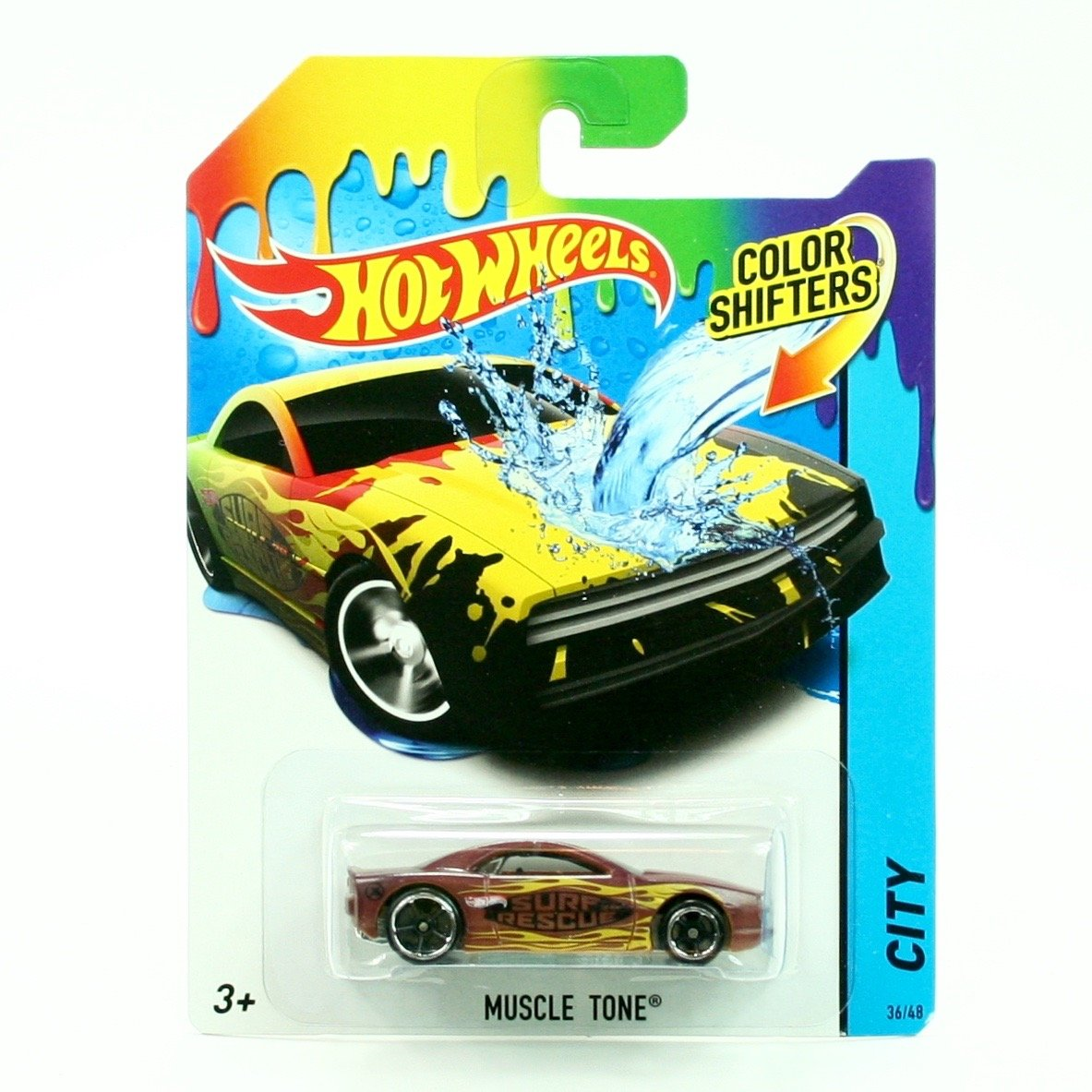 Hot Wheels - 2014 Color Shifters - City 36/48 - Muscle Tone