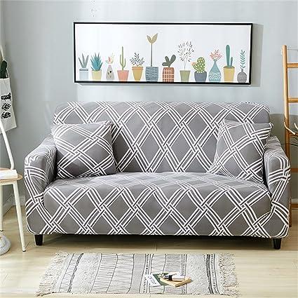 amazon com forcheer knit elastic sofa slipcover sofa cover form fit rh amazon com sofa cover making sofa cover patterns free