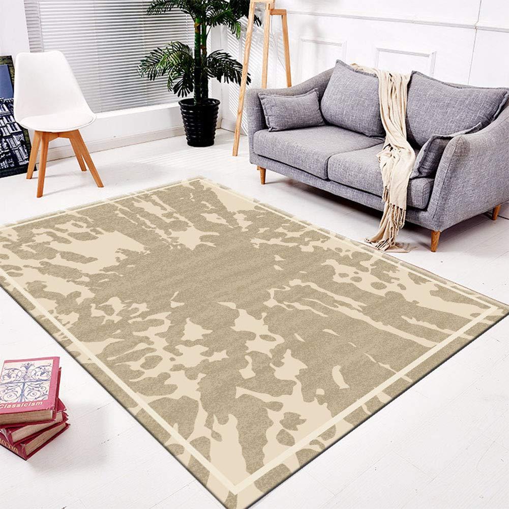 QAQ Teppich Polyester Haarig Haarig Haarig Einfach Weich Rutschfeste Sofa Couchtisch Wohnzimmer Schlafzimmer,B,120  160Cm B07K8D4PNP Teppiche 7adf11