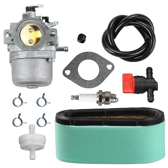 Amazon.com: Panari 799728 carburador + 496894S Tune Up Kit ...