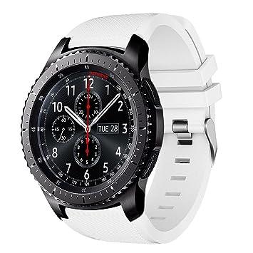 AMERTEER Correa de reloj Gear S3 Frontier / Classic, Correas de ...