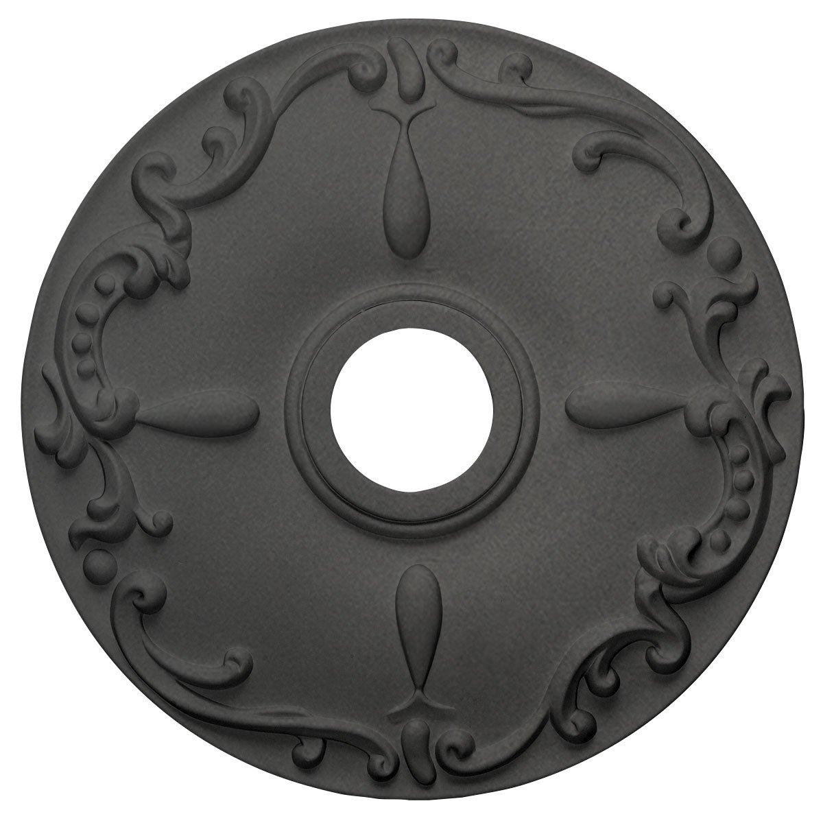 Ekena Millwork CM18KESGS Kent Ceiling Medallion, Steel Gray