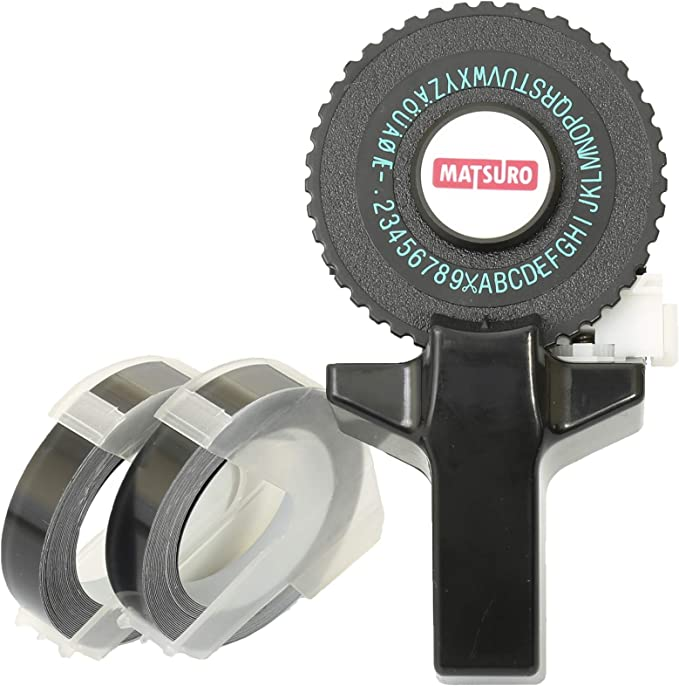 Drucken und Schneiden Mini SCHWARZ 3D Etikettenprgegert M-101 ...